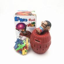 Novelty Tuba Bajak Laut Ember untuk Anak-anak dan orang dewasa Lucky Stab Pop Up Game Intelektual Pesta keluarga Lucu tantangan mainan Antistress