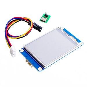 Image 1 - Резистивный сенсорный экран Nextion 2,4 дюйма TFT 320x240, UART HMI Smart raspberry pi, ЖК модуль, дисплей TFT на английском языке