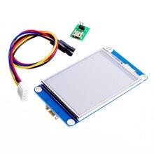 """Nextion 2.4 """"TFT 320x240 rezystancyjny ekran dotykowy UART HMI inteligentny wyświetlacz LCD raspberry pi TFT angielski"""