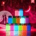20g 13 colores a base de agua líquida recubrimiento luminoso super brillante Fluorescente cuerpo/pintura de la cara Luminosa de Acrílico pinturas resplandor en la oscuridad