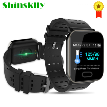 Shinsklly Smart Bracelet Heart Rate Monitor Blood Pressure Smart Band Waterproof Fitness Tracker Smartwatch Men for Android IOS