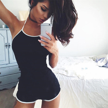 997a82508457 2018 Sexy Summer Body Jumpsuit Shorts Playsuit Bodycon Bodysuit sin mangas  Backless Short trajes para mujeres Beach Romper