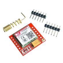 Sim800 sim800c gsm gprs módulo 5v/3.3v ttl placa de desenvolvimento ipex com bluetooth e tts stm32 c51