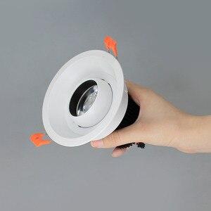 Image 4 - Aisilan Spot lumineux Encastrable LED, Angle réglable, Encastrable, LED, lumière blanche, idéal pour léclairage dintérieur, 7W, AC90 260V