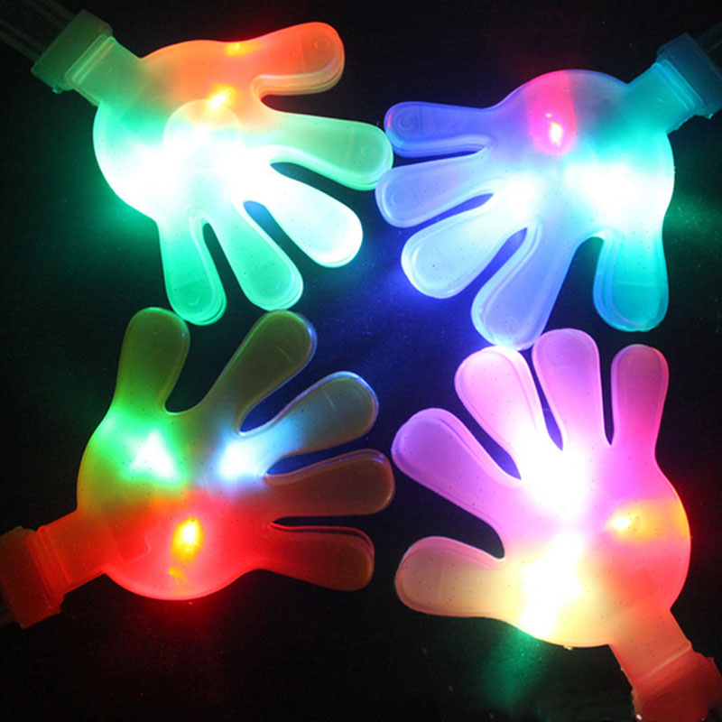 723ae5949401 Amazing LED Light Up Flashing Clap Your Hands Musical Instruments Shaker  Toys Gift Glow Party Concert Bar Birthday Toy Gift-in Glow Party Supplies  from Home ...