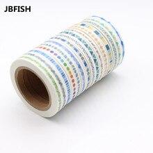 JBFISH  Cute Plants Curves Love Slim Wide Japanese Masking Paper Washi Tape 4300