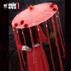 Image 5 - HSIU הואה נג Cosplay תלבושות פאות טיאן גואן Ci פו Cosplay תלבושות פאות, מצחייה, אבזרי אביזרי מלא אחר סט