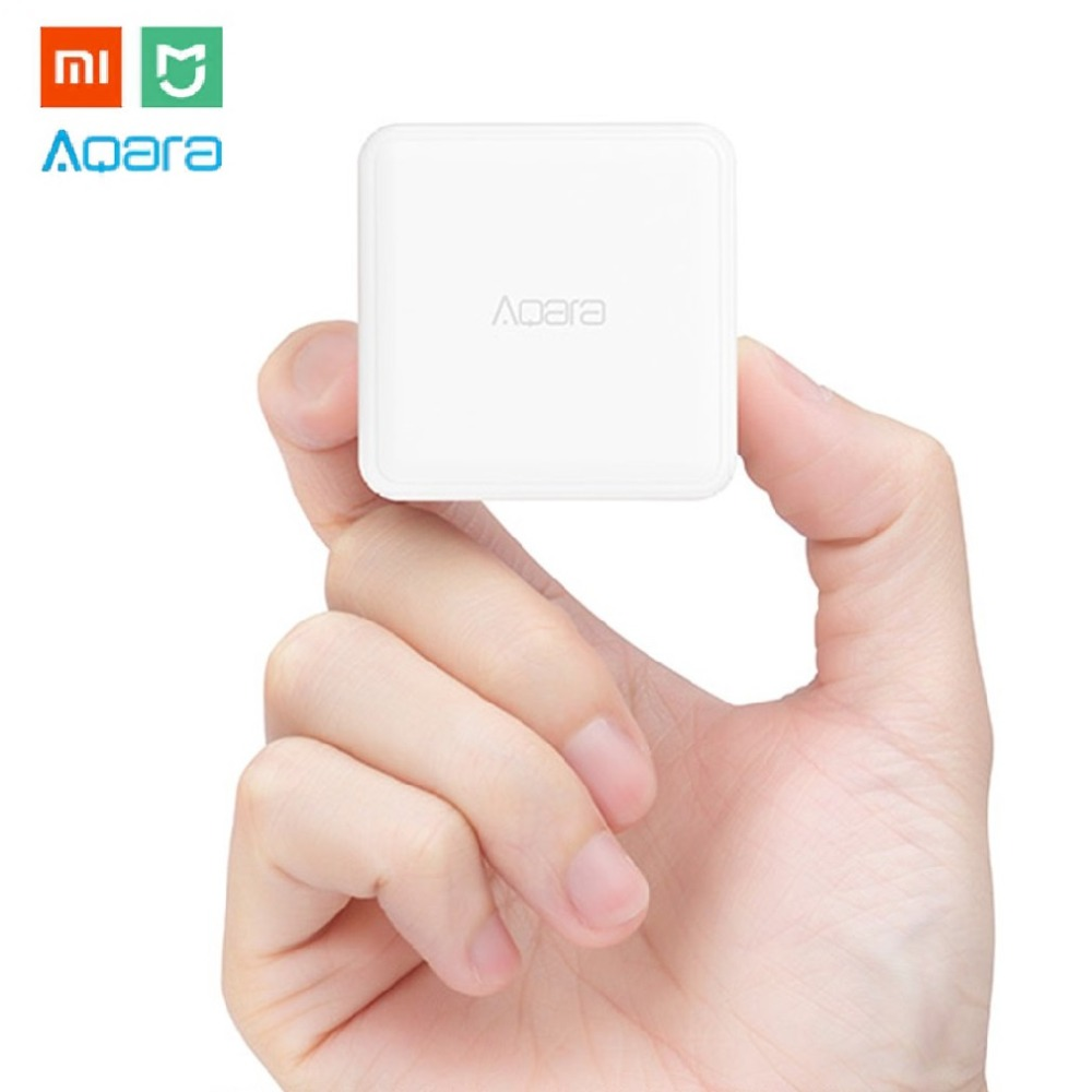 Aqara Mi Magic Cube Controller Zigbee Version Six Actions Control For Smart Home Device Work with Mijia Home App Hot Selling цены онлайн