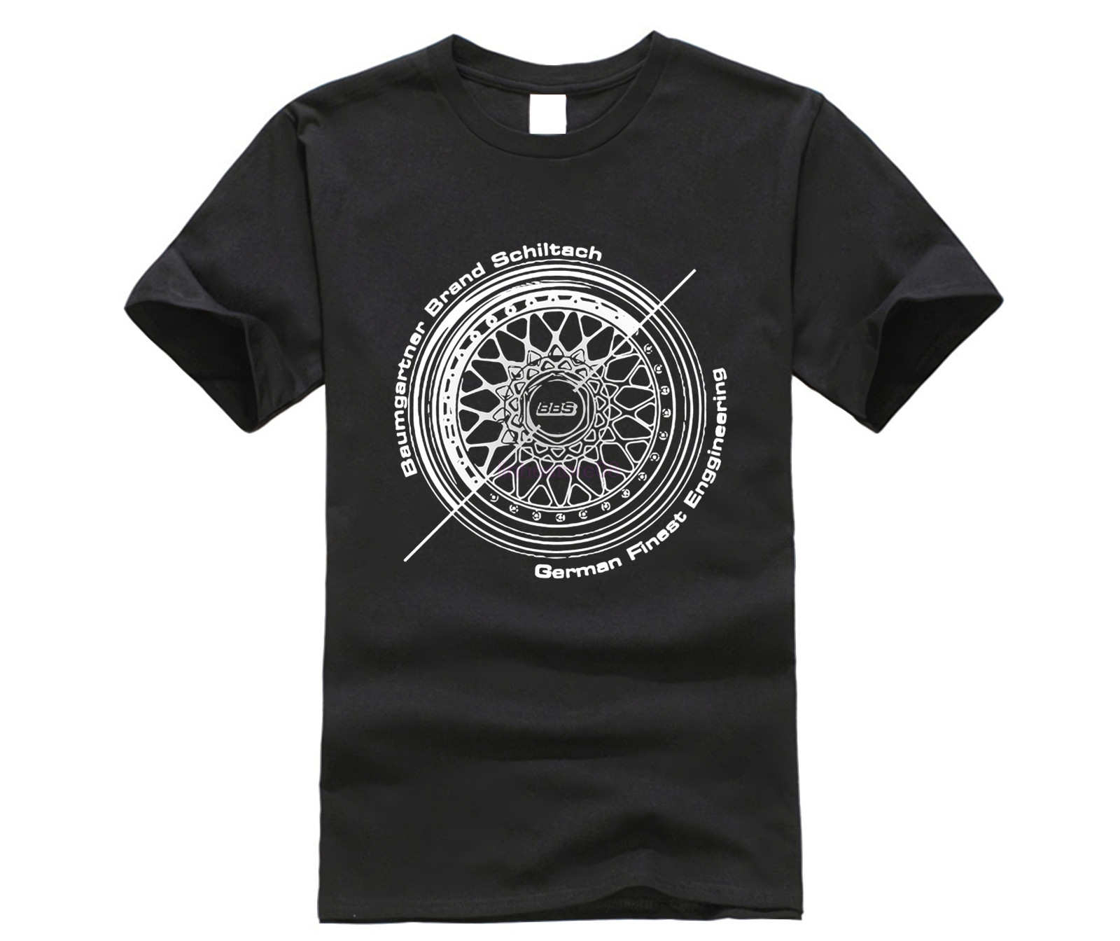 Men   T     shirt   BBS Wheels Automotive Fashion   T     Shirt   Classic Tops Tee funny   t  -  shirt   novelty tshirt men