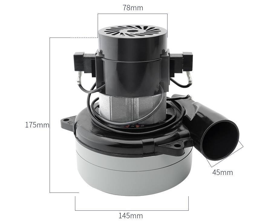 220 v 145mm 1200 w aspirateur industriel propre scie moteur universel nettoyant pour Midea Sanyo Haier Philips chiot