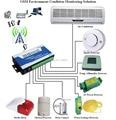 S130 sistema de Controle Remoto Sem Fio, GSM sistema de Alarme Controlador de Temperatura