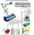 Sistema de Control Remoto Inalámbrico S130, GSM Alarma del Controlador de Temperatura