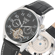 Tangan Tourbillon Leather Strap