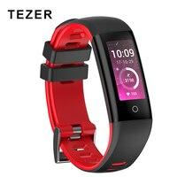 Tezer smart wristband 3 model G16 heart rate monitor fitness tracker smart bracelet blood pressure фитнес браслет IOS Android