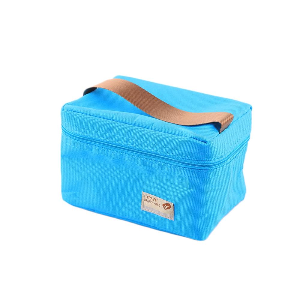 1 Pz Portatile Cooler Bag Isolamento Termico Impermeabile Multiuso Cibo Picnic Isolato Pranzo Al Sacco Carry Pouch Bag Bagagli Long Performance Life