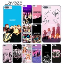 Lavaza BLACK PINK k-pop BLACKPINK kpop collage Hard Phone Cover Case for iPhone XR X 11 Pro XS Max 8 7 6 6S 5 5S SE 4S 4 10(China)