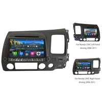 2GB RAM 32GB ROM Octa Core Android 6.0 WiFi Car DVD Stereo For Honda CIVIC Left/Right Hand Driving 2006 2007 2008 2009 2010 2011