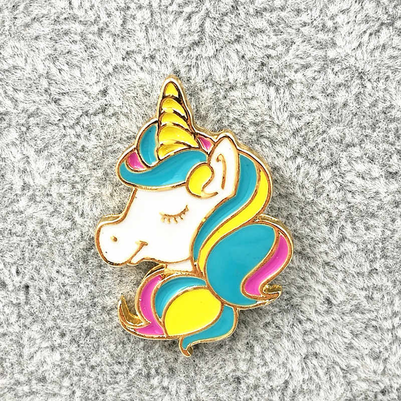 Timlee X191 Cute Animal Unicorn Enamel Pin Hot air Balloon Cat Envelop Metal Brooch Pins Fashion Jewelry Wholesale