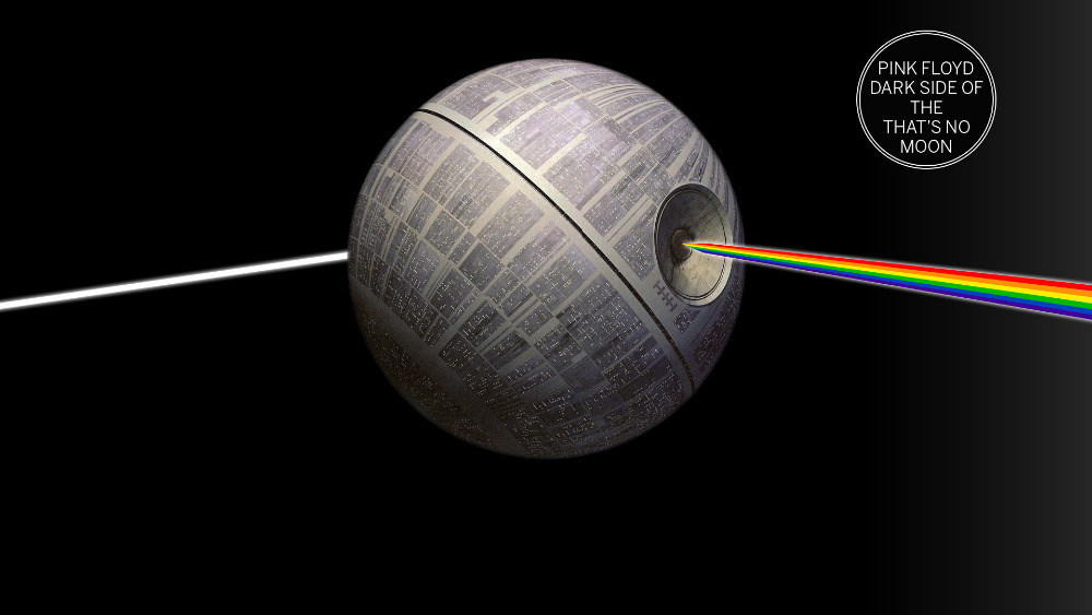 Compare prices on musical wall decals online shopping buy for Dark side of the moon mural