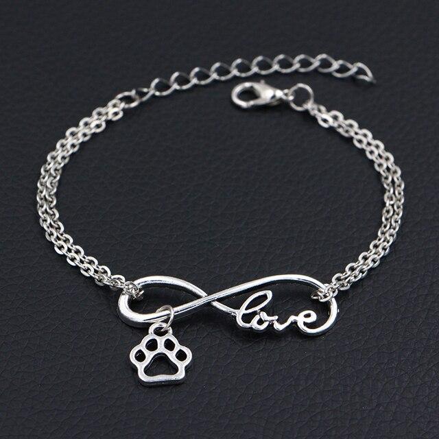 Dog Paw Charms Bracelets  1
