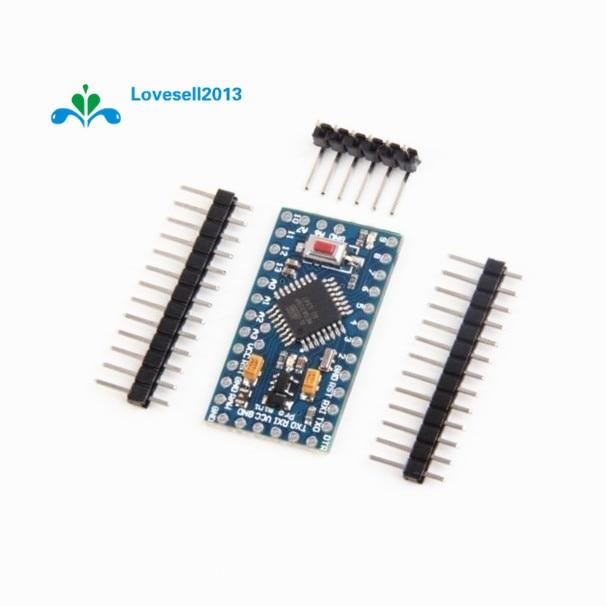Бесплатная доставка Pro Mini atmega328 Мини ATMEGA328P 5 В 16 мГц модуль с кварцевый генератор вывода заменить ATMEGA128 для Arduino Nano