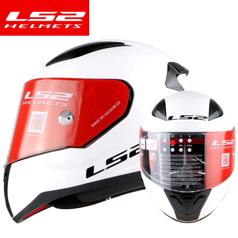 new arrival LS2 FF353 full face motorcycle helmet ABS reinforced shell man woman racing motorbike helmets rapid moto helmets original ls2 ff353 full face motorcycle helmet high quality abs moto casque ls2 rapid street racing helmets ece approved