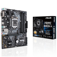 ASUS PRIME B360M A Desktop Motherboard Intel B360 LGA 1151 DDR4 USB3.1 SATA3.0 M.2 m ATXmotherboard