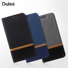 Dulcii One X9 Case for HTC OneX9 Phone Bag Flip PU Leather Cross Pattern Two-color Cell Cover Mobile Protect Business Style