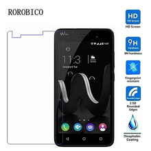 ROROBICO Tempered Glass For Wiko Rainbow UP Jam Jerry Robby Jimmy Highway Pure Tommy Sunny Birdy Fever 4G Screen Protector CASE стоимость