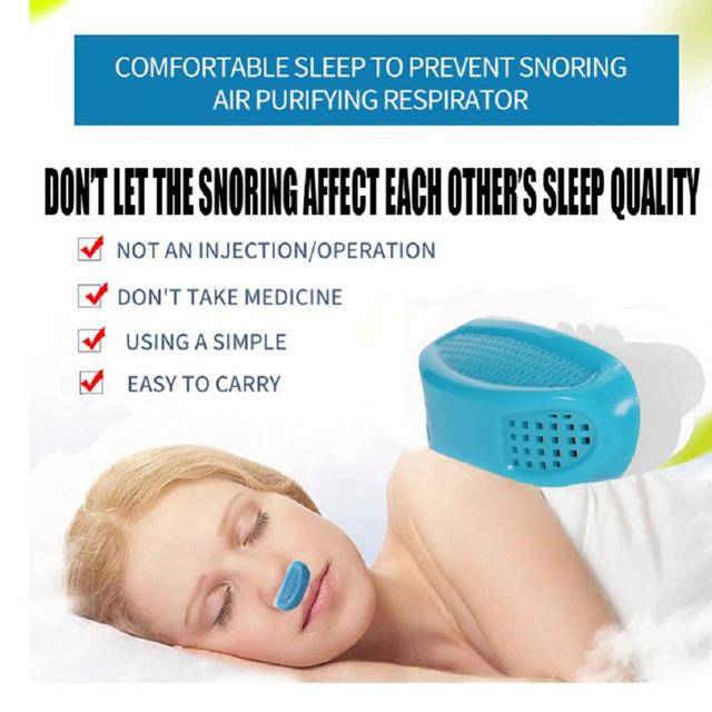 Anti Snore Nasal Dilators Apnea Aid Device