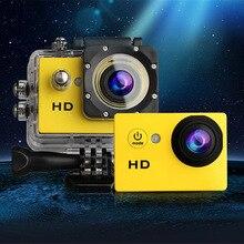 Caliente [ 720 P cámara Digital + 32 G SD TF Card ] 1.5 pulgadas pantalla de fotos cámara bajo el agua 30 m cámaras a prueba de agua grabador de vídeo Mini cámara