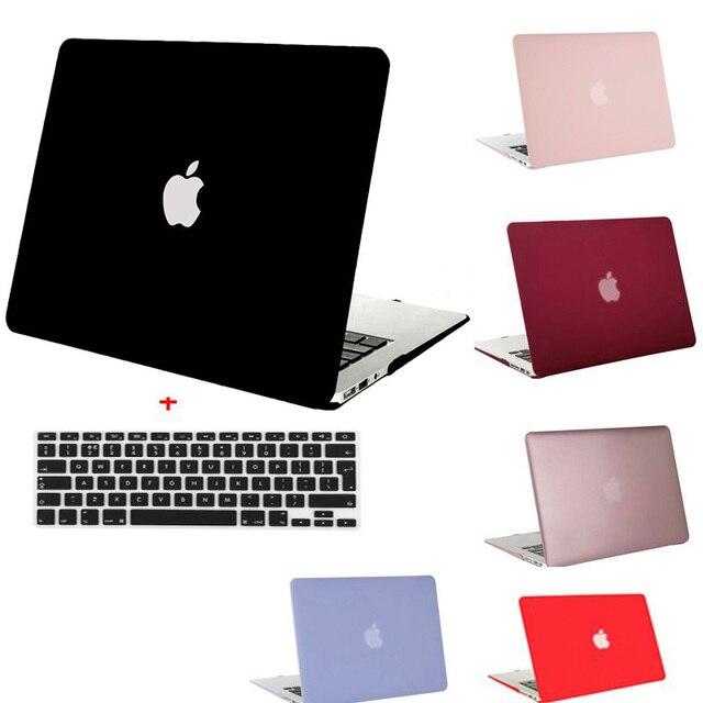 Mosiso для macbook air 13 11 пластиковые твердый переплет чехол для Mac Book Air 11.6 13.3 дюймов Ноутбук Shell Обложка + Клавиатура Протектор Фильм