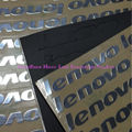 2 pcs New glossy silver label LOGO stickers for Lenovo T420 46mm*8mm