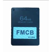 Бесплатная McBoot FMCB 1,953 для sony Playstation2 PS2 8 MB/16 MB/32 MB/64 MB карта памяти для игр Saver карты OPL MC загрузки данных Stick модуль