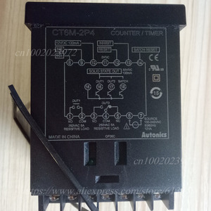 Image 4 - CT6M 2P4 ( CT6 2P) 100 240VAC(50 60Hz) новый оригинальный Оригинальный Многофункциональный таймер