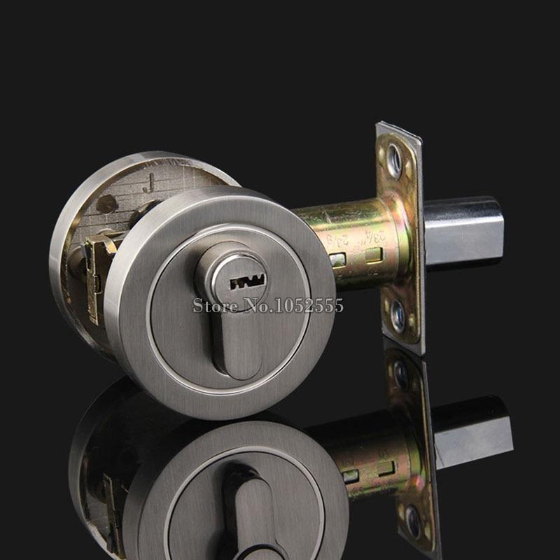 Serrure de porte de sécurité à pêne dormant en alliage de Zinc de haute qualité avec serrure de sécurité à clé