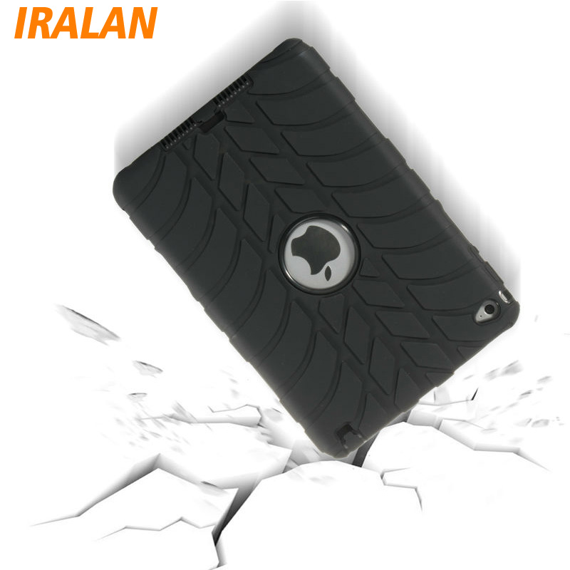Hybrid Armor Case For iPad Mini 4 Shockproof Heavy Duty Silicone Hard drop resistance ipad tablet accessories