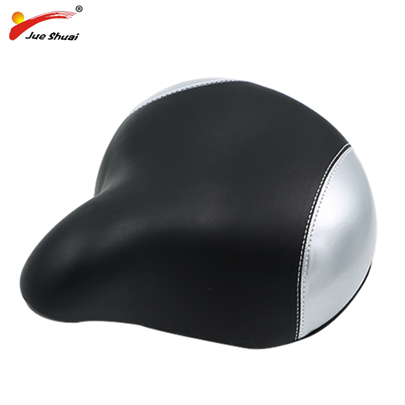 jueshuai Waterproof Bicycle Saddle Big Size Bicycle Seat Mountain Bikes Seat selle velo ville City Bike Cycling Accessories wheel up bicycle rear seat trunk bag full waterproof big capacity 27l mtb road bike rear bag tail seat panniers cycling touring