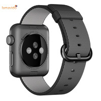 For Apple Watch Band 42mm Nylon Watchbands Fabric Strap Replacement Wristband Bracelet Belt For IWatch Band