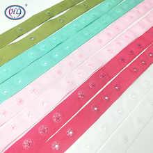 HL 18 мм 1 м/лот нейлон с кнопками пояс для детской одежды сумки одеяло Швейные аксессуары