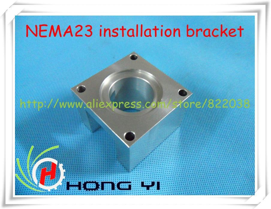 Free shipping: Stepping motor NEMA 23 mounts bracket, the installation Block