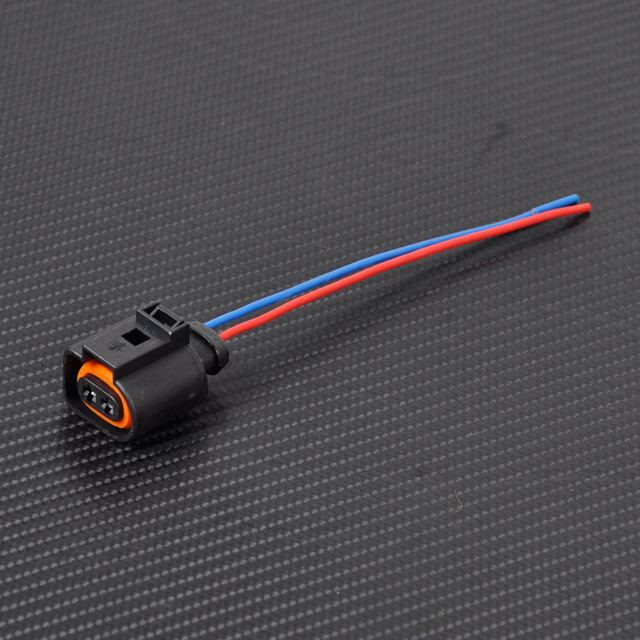 CITALL New 1J0973702 Electrical Harness 2 Pin Connector Plug Wiring ...