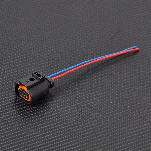 Citall Новый 1J0973702 электропроводка 2 контактный разъем подключения для VW Audi A4 A6 A8 Q5 Q7 2004-2009-1J0 973 702