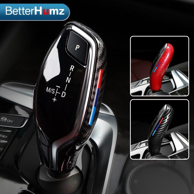 BetterHumz дневная крышка, защита рычага ручного тормоза, автомобильное внутреннее украшение для BMW G30 G31 G01 G02 G32 5 Series X3