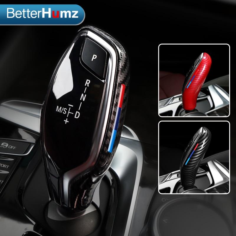 Car Gear Head Shift Knob Cover Abs Gear Shift Handbrake Grip Case Decor Shift Knob Shell For BMW G30 G31 G01 G02 G32 5 series X3|Car Stickers| |  - title=