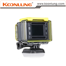 """Sport Camera Sport Recorder 40 Meters Waterproof with 140D Wide Angle Lens 1.5"""" HD Digital Screen with 2K Action DV"""