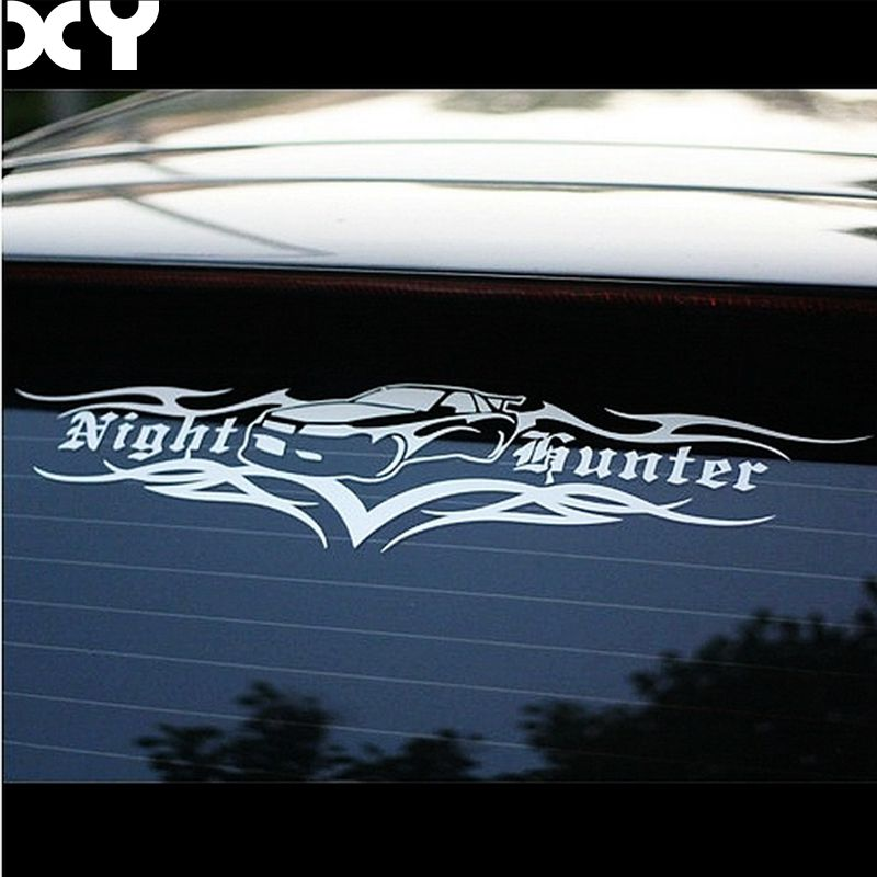 Car Stickers Night Hunter Vinyl Decals Car Modification Stickers for Rear Windshield Front Windshield Drop Shipping racing middle size resident evil decals bumper stickers for car