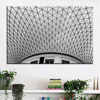 Large Size Printing Oil Painting Roof Building Wall Painting POP Art Wall Art Picture For Living