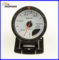 "2.5"" 60MM DF Advance CR Gauge Meter Fuel Pressure Gauge White Face With Sensor/AUTO GAUGE"