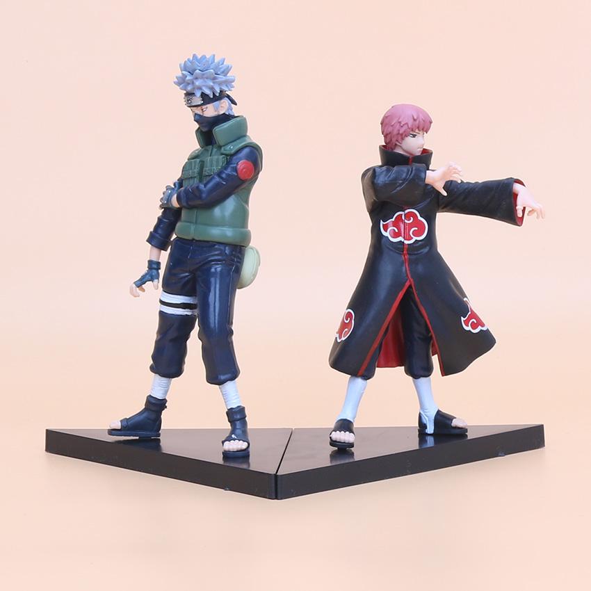 Naruto PVC Action Figures 2pcs/set (6 styles)